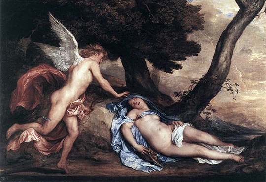 Eros and Psyche. Soul power!