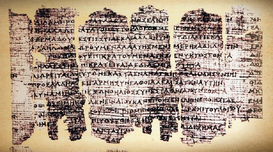 The Derveni Papyrus