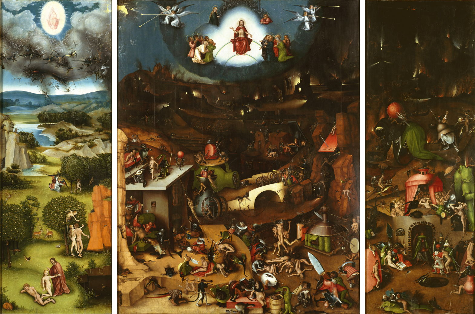 The Last Judgement, School of Lucas Cranach 1519