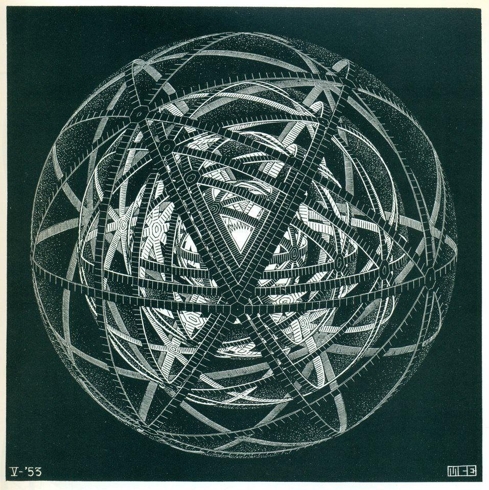 Spheres within spheres ... (M.C. Escher)