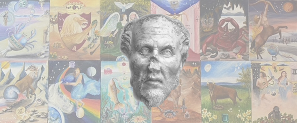 Plotinus on an astrological background by our interview-guest